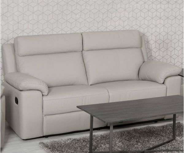 Furniture Line Enzo Leather Recliner 3 Seater Sofa