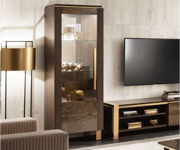 Arredoclassic Essenza Italian 1 Door Display Cabinet