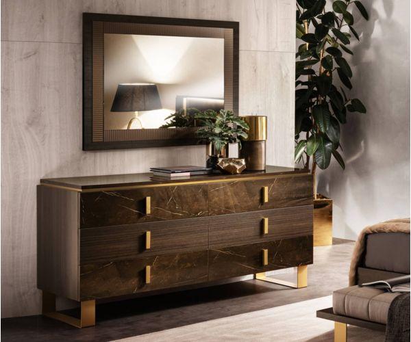 Arredoclassic Essenza Italian 6 Drawer Dresser