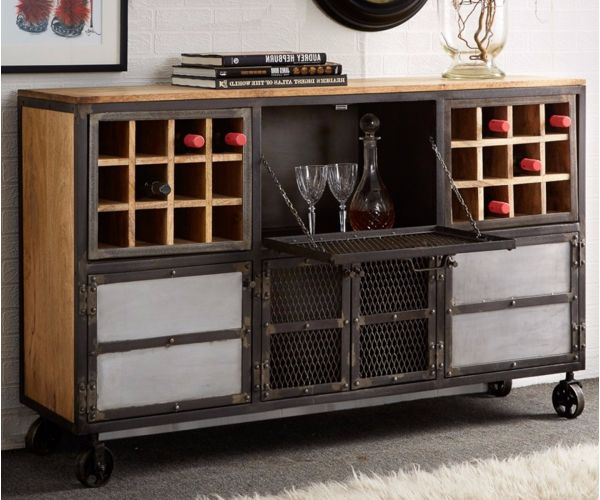Indian Hub Evoke Bar Cabinet