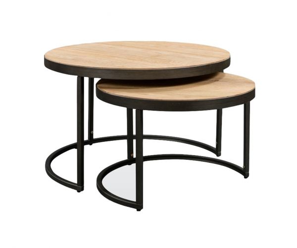Annaghmore Evora Round Nest of Tables