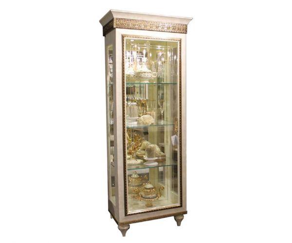 Arredoclassic Fantasia Italian 1 Door Display Cabinet