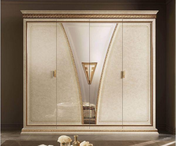 Arredoclassic Fantasia Italian 4 Door Wardrobe