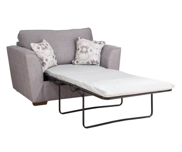 Buoyant Upholstery Fantasia Chair Sofa Bed 80cm with Deluxe Mattress