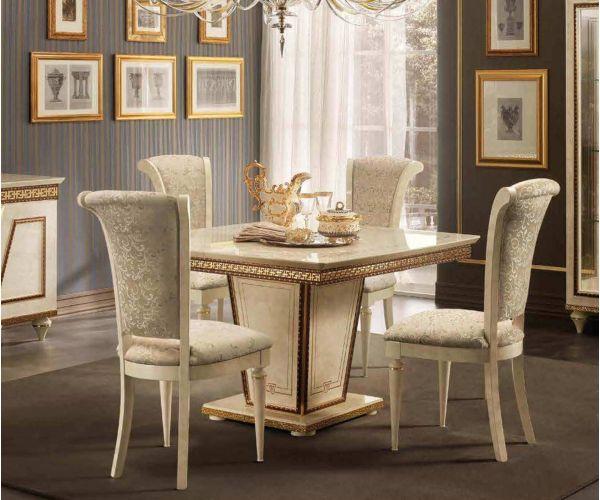 Arredoclassic Fantasia Italian Square Extension Dining Table