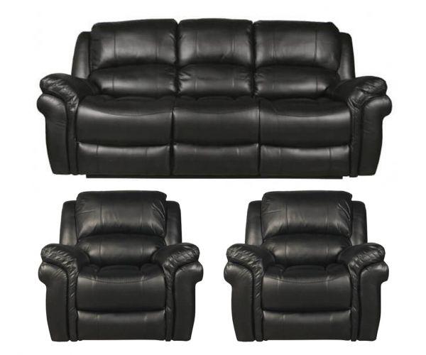 Annaghmore Farnham LA 3+1+1 Recliner Sofa Set