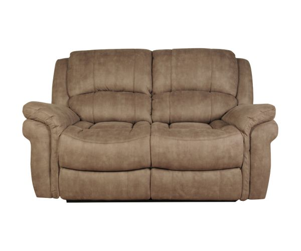 Annaghmore Farnham Taupe Leather Recliner 2 Seater Sofa