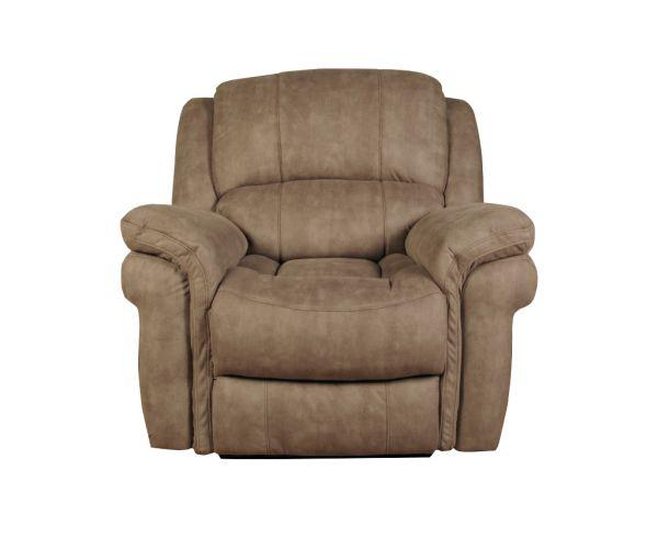 Annaghmore Farnham Taupe Leather Recliner Armchair