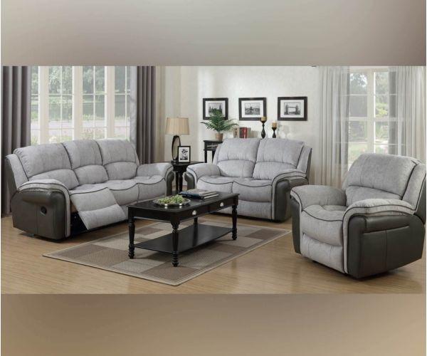 Annaghmore Farnham Fusion Grey 3+1+1 Sofa Suite