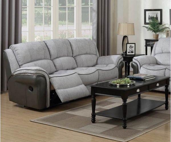Annaghmore Farnham Fusion Grey 3 Seater Sofa