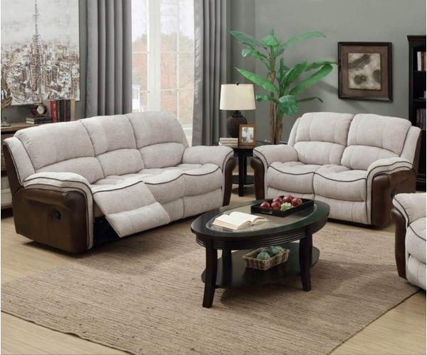 Annaghmore Farnham Fusion Mink & Tan 3+2 Sofa Suite