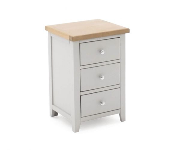 Vida Living Ferndale 3 Drawer Bedside Table