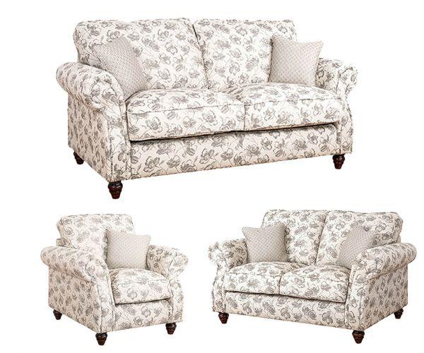 Buoyant Upholstery Finley Fabric 3+2+1 Sofa Set