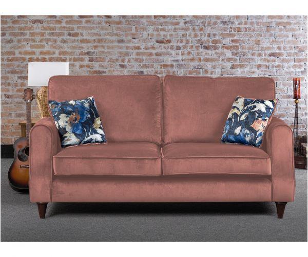 Sweet Dreams Firenze Powder Fabric Sofa