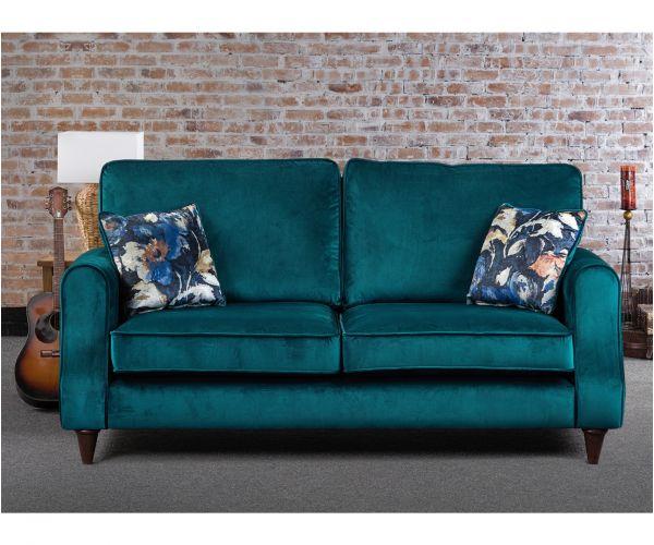 Sweet Dreams Firenze Teal Fabric Sofa