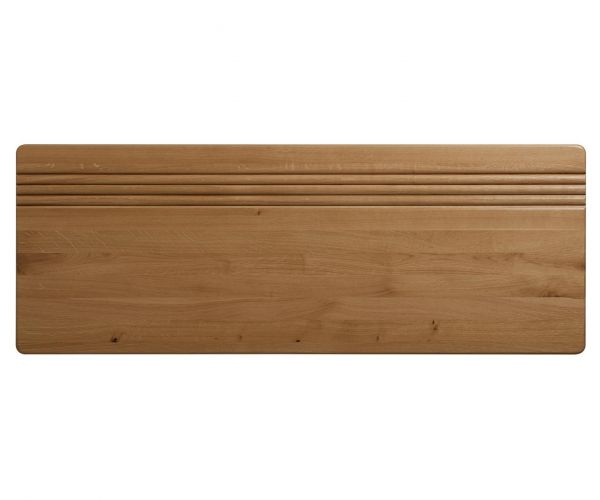Stuart Jones Flute Oak Headboard