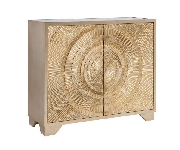 Derrys Furniture Frenso Gold 2 Door Sideboard