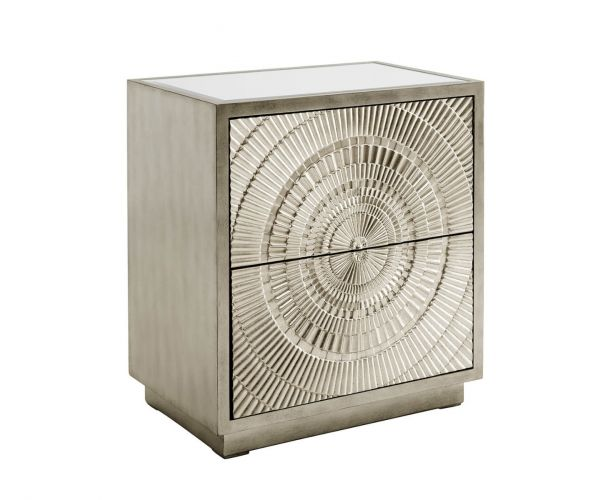 Derrys Furniture Frenso Silver Side Table