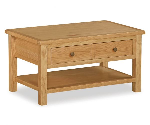 Global Home Cork Lite Oak Coffee Table