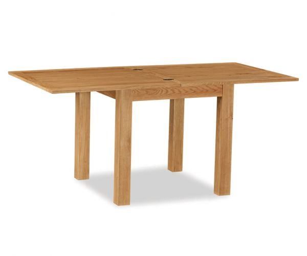 Global Home Cork Lite Oak Square Extending Dining Table Only