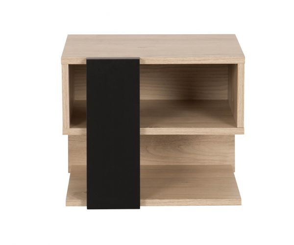 Gami Duplex Natural Chestnut Bedside Cabinet