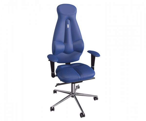 Kulik Galaxy Midnight Blue Ergonomic Armchair