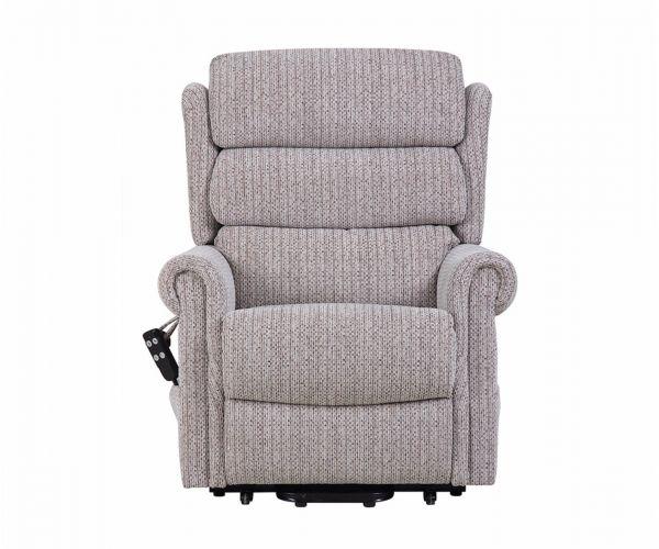 GFA Lincoln Standard Dual Motor Fabric Rise Recliner Chair