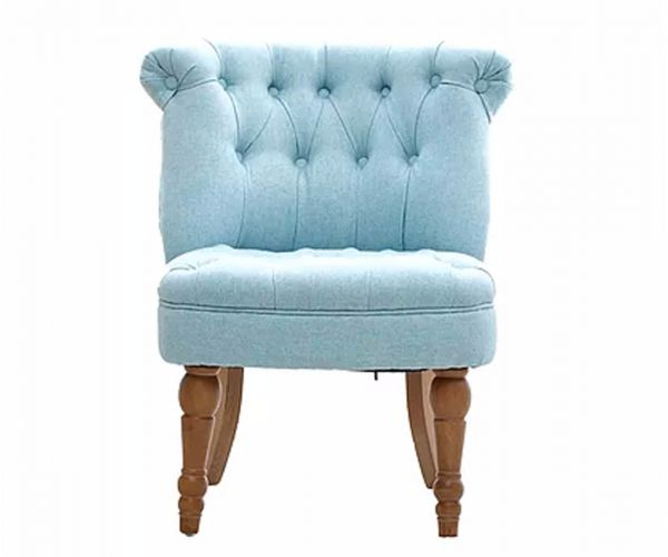 GFA Cotswold Duck Egg Fabric Accent Chair