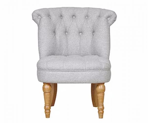 GFA Cotswold Mercury Fabric Accent Chair