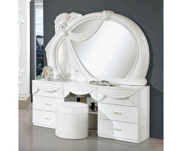 H2O Design Gina2 White Italian Vanity Dresser