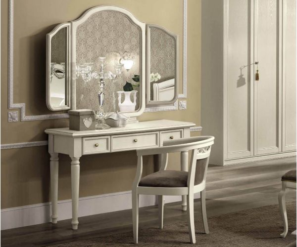 Camel Group Giotto Bianco Antico Vanity Dresser