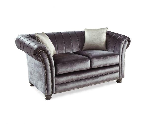 Vida Living Giselle Charcoal 2 Seater Sofa