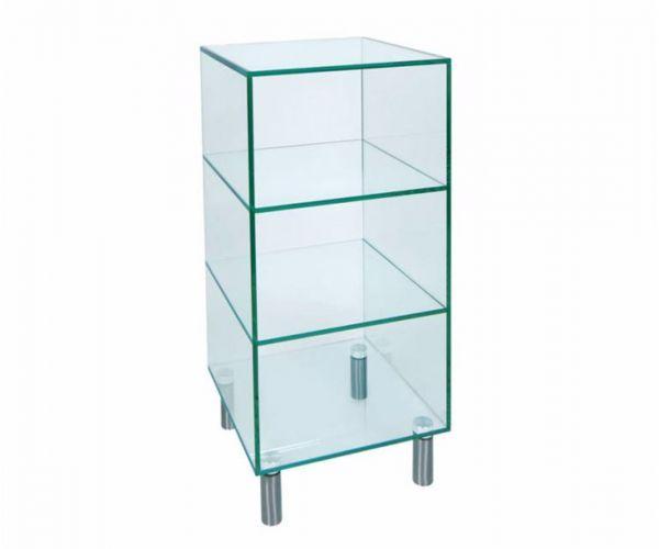 Greenapple Furniture Small Glass Shelf Unit