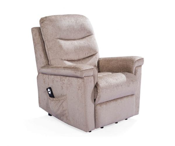 Vida Living Glencoe Mink Electric Recliner Chair