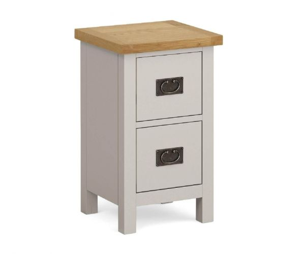 Global Home Devon Slim Bedside Cabinet