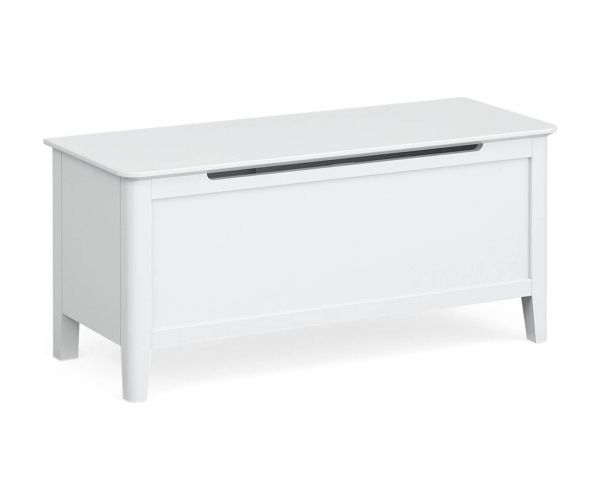 Global Home Hampstead White Blanket Box