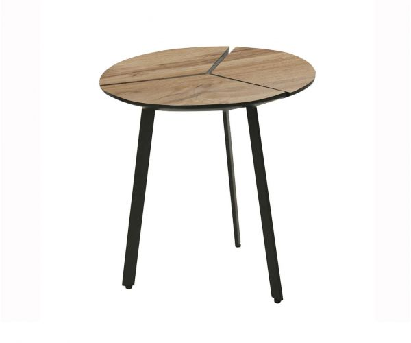 Vida Living Gyda Oak Round Lamp Table