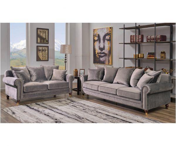 Derrys Furniture Hampton Grey 3+2 Sofa Set