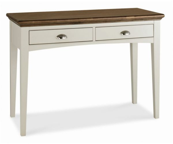 Bentley Designs Hampstead Soft Grey and Walnut Dressing Table