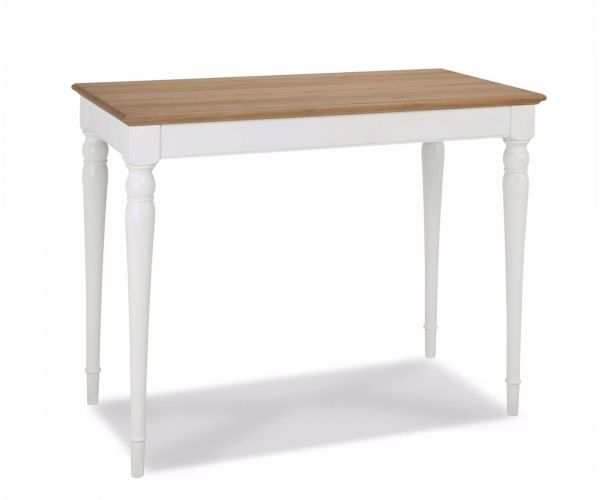 Bentley Designs Hampstead Two Tone Bar Table
