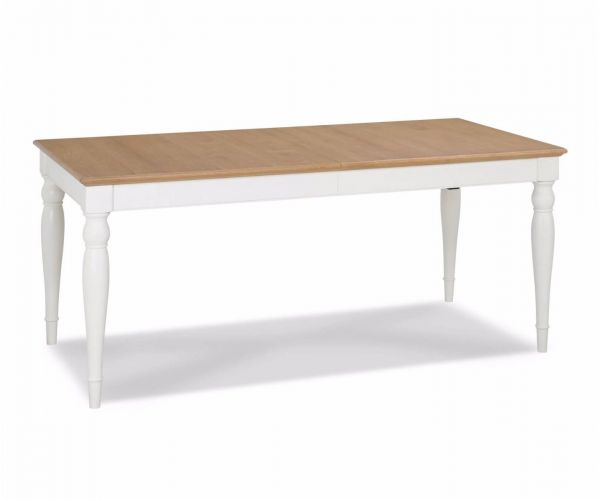 Bentley Designs Hampstead Two Tone Large Rectangular Dining Table Only