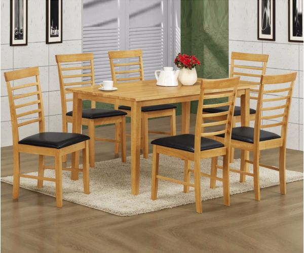 Annaghmore Hanover Large Dining Table with 6 Chairs