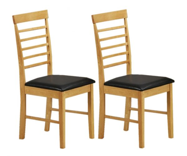 Annaghmore Hanover Light Oak Dining Chair in Pair