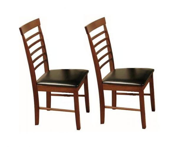 Annaghmore Hanover Dark Dining Chair in Pair