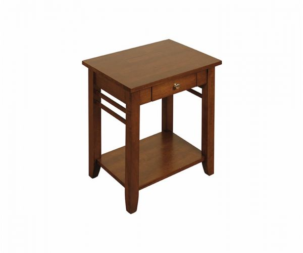 Annaghmore Hanover Dark End Table