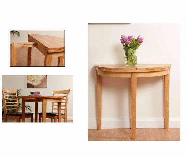 Annaghmore Hanover Half Moon Dining Set