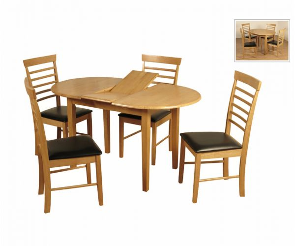 Annaghmore Hanover Oval Butterfly Dining Set