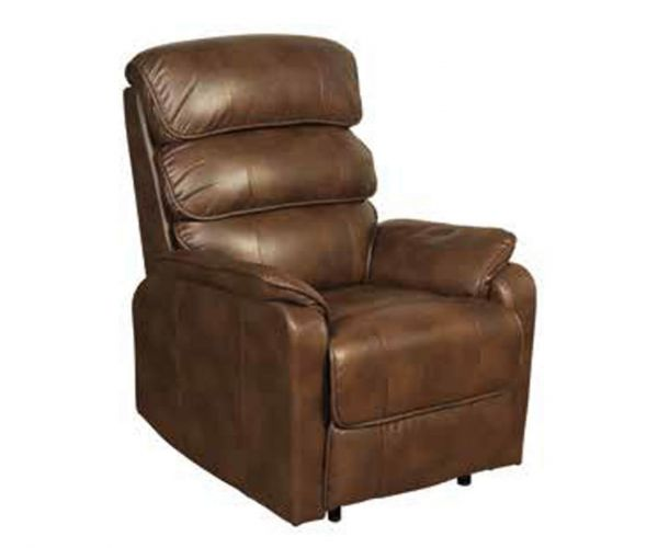 Annaghmore Harmony Two Tone Tan Manual Recliner Chair