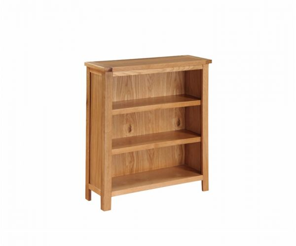 Annaghmore Hartford City Oak Low Bookcase