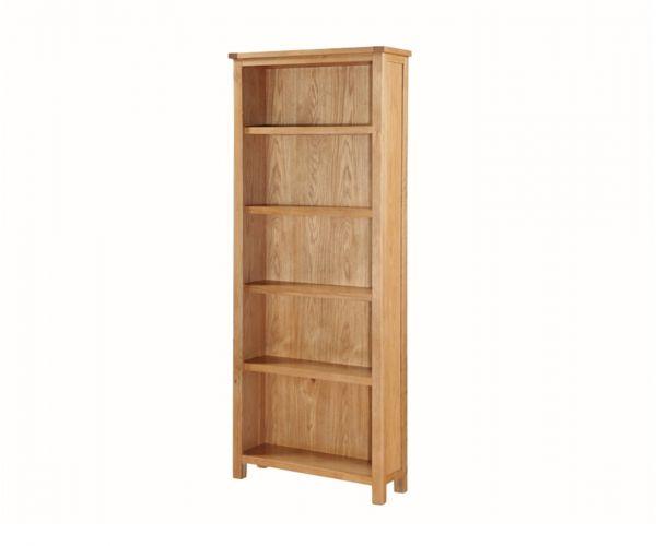 Annaghmore Hartford City Oak Tall Bookcase